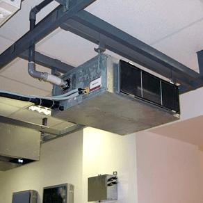 Обслуживание канальных кондиционеров
